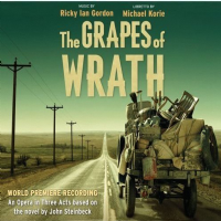 The Grapes Of Wrath World Premiere Recording CD